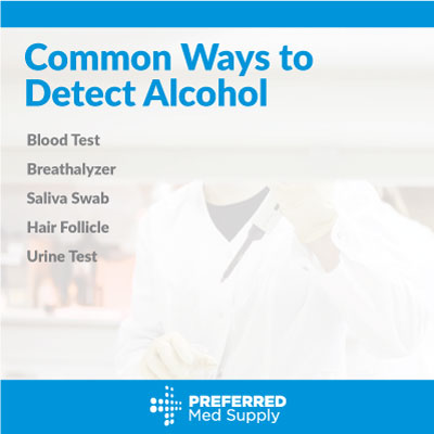 Common detection methods for alcohol